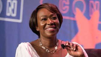 Joy-Ann Reid speaks during Politicon at the Pasadena Convention Center in Pasadena, California on July 29, 2017. Politicon is a bipartisan convention that mixes politics, comedy and entertainment. (Photo by: Ronen Tivony) (Photo by Ronen Tivony/NurPhoto via Getty Images)
