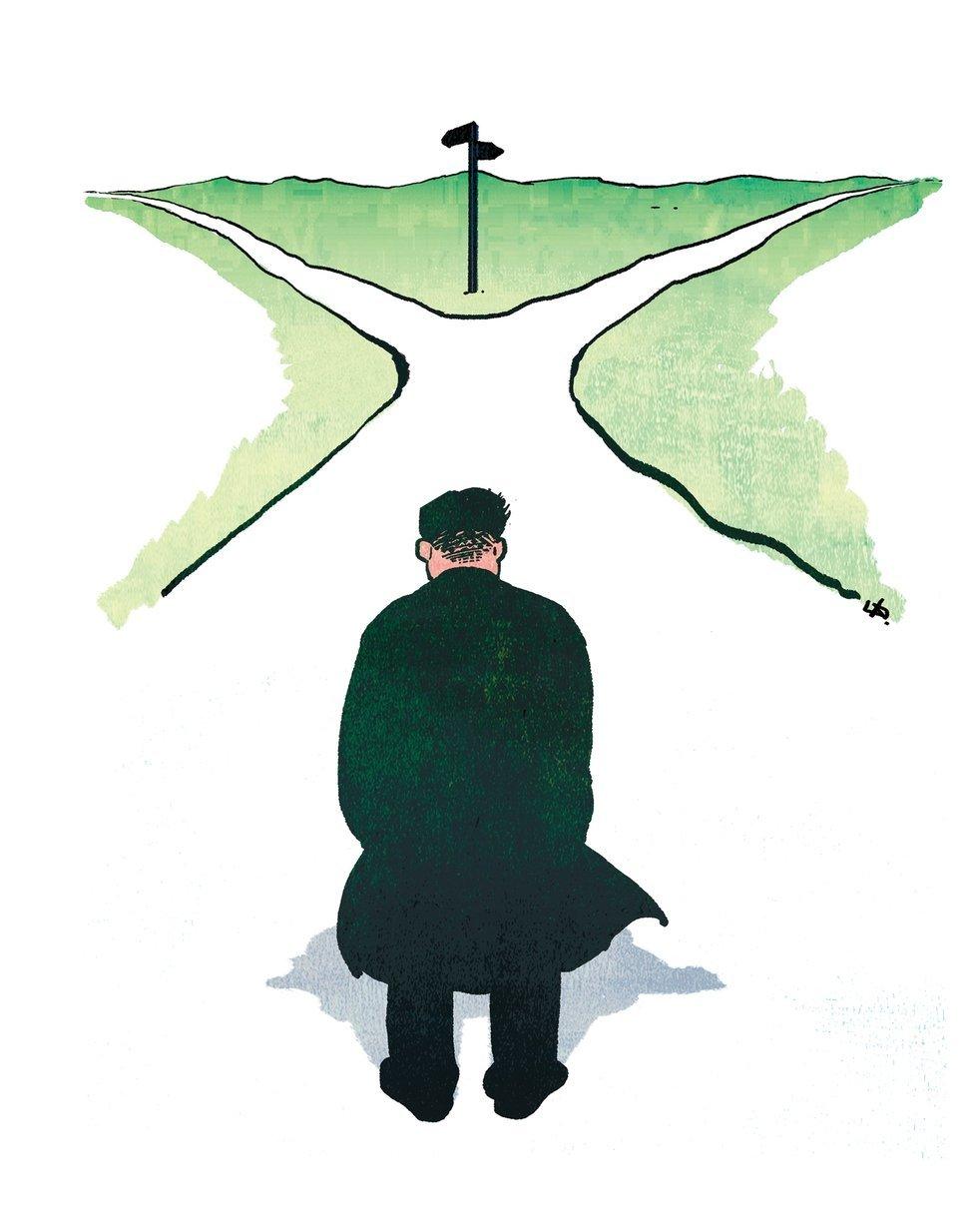북한, 기로에