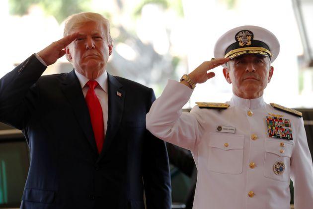 President Donald Trump will nominate Adm. Harry Harris to be the U.S. ambassador to South Korea, according...