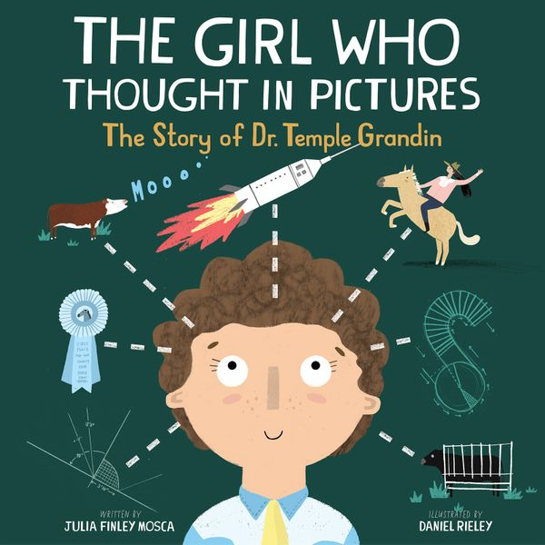 <i>The Girl Who Thought In Pictures</i> tells the inspiring story of world-renowned scientist Dr. Temple Grandin, who gr
