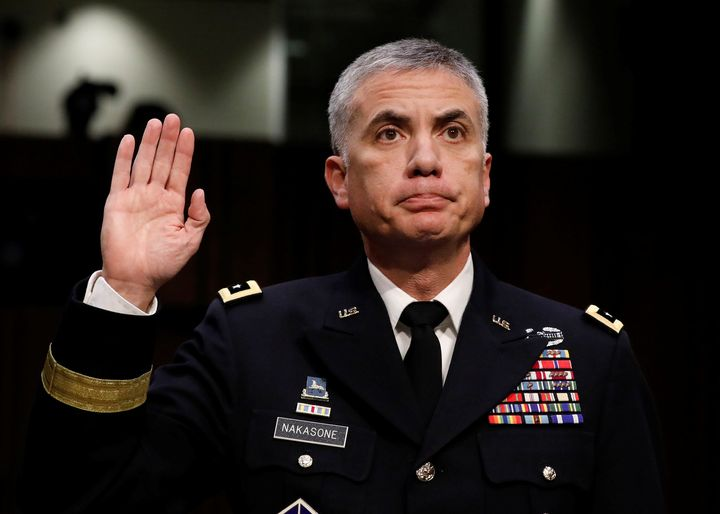Army Lieutenant General Paul Nakasone, who wasconfirmed on Tuesday to lead the U.S. Cyber Command and National Security