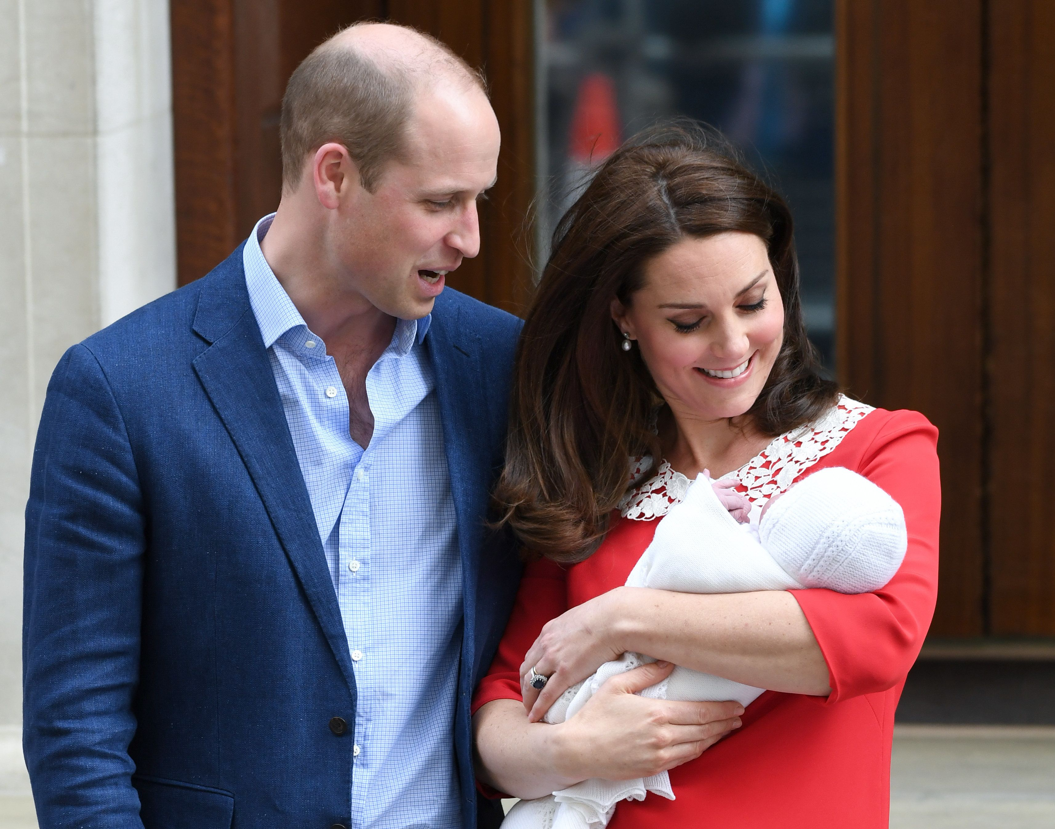 Duke And Duchess Of Cambridge Name Third Royal Baby