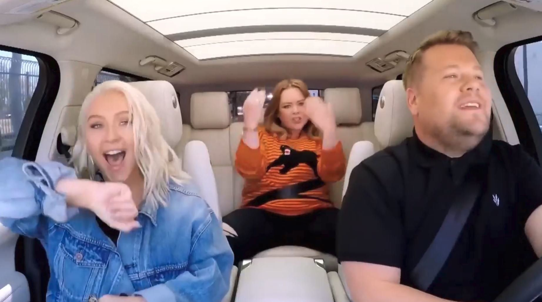 Christina Aguilera Gets An Assist From Melissa McCarthy on Carpool Karaoke