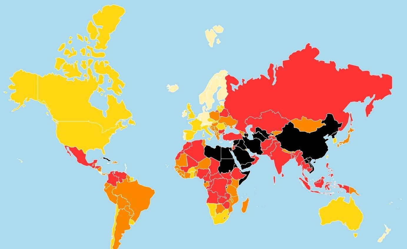 World Press Freedom 2018:Το μίσος για τη δημοσιογραφία απειλεί τη Δημοκρατία. Υποχωρεί η ελευθερία του Τύπου ανά τον