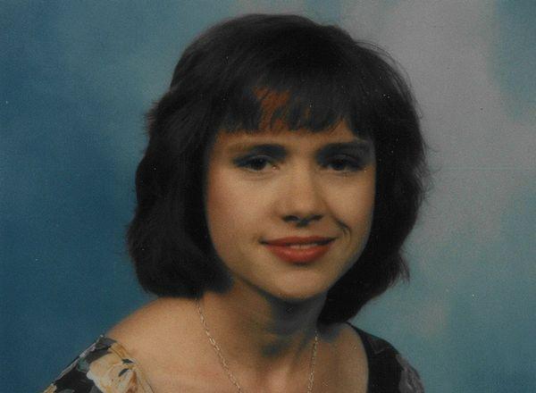 젠 마틴이 1996년 결혼했을 당시의
