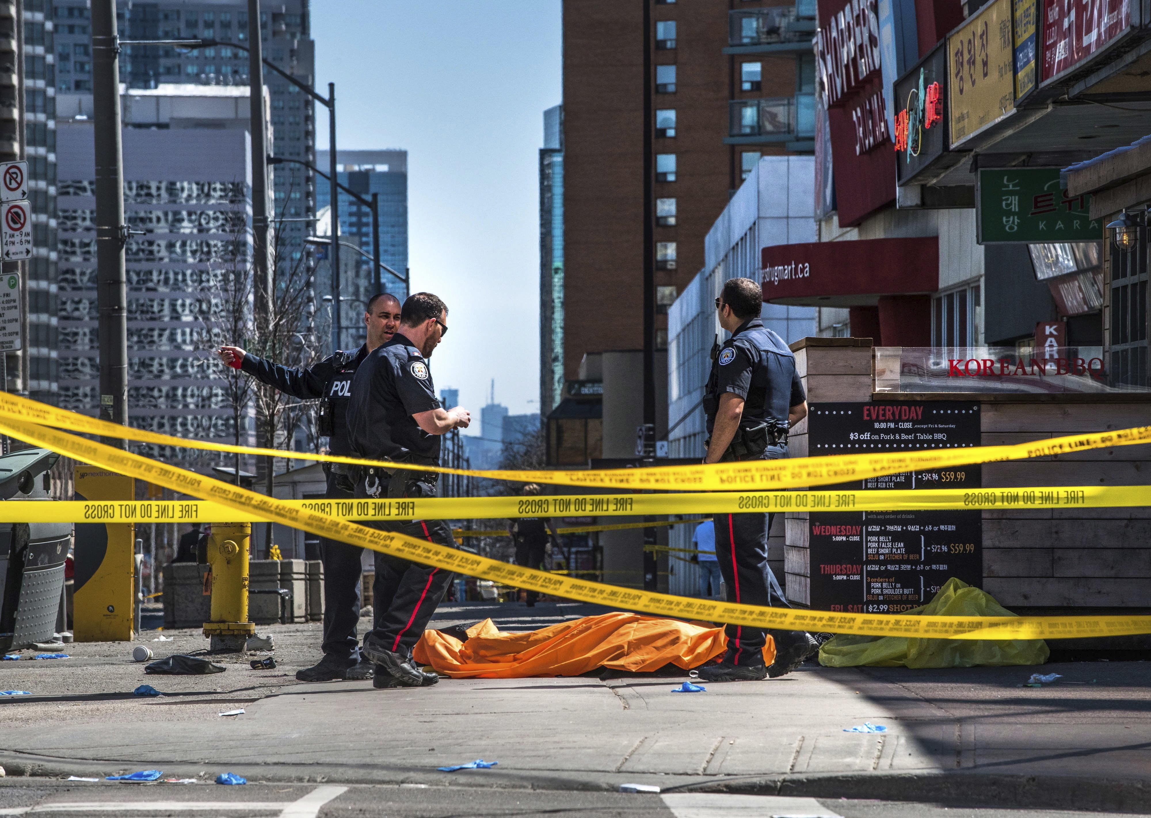 Medienberichte: Toronto-Attentäter schrieb verstörenden
