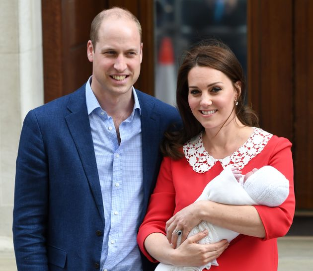 The Duke and Duchess of Cambridge welcomed their third child on