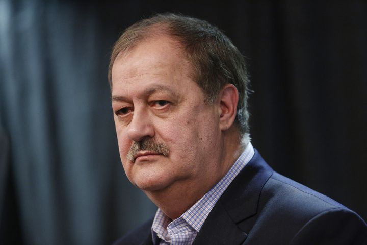 Don Blankenship, a former coal CEO turnedRepublican U.S. Senate candidate, is seen during a campaign event in West Virg