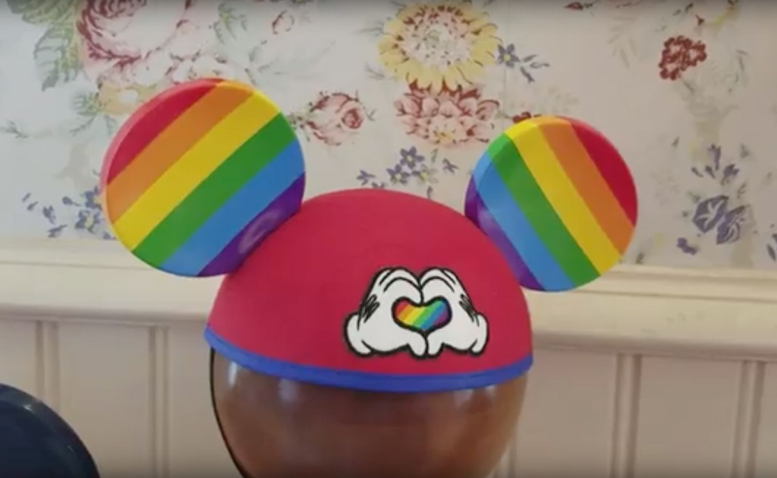 Disney Unveils Rainbow Mickey Mouse Ears Just In Time For Pride