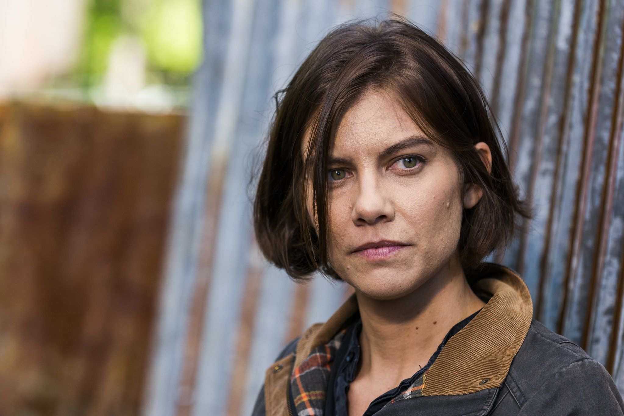 "Lauren Cohan asMaggie Greene/Rhee on ""The Walking Dead."""