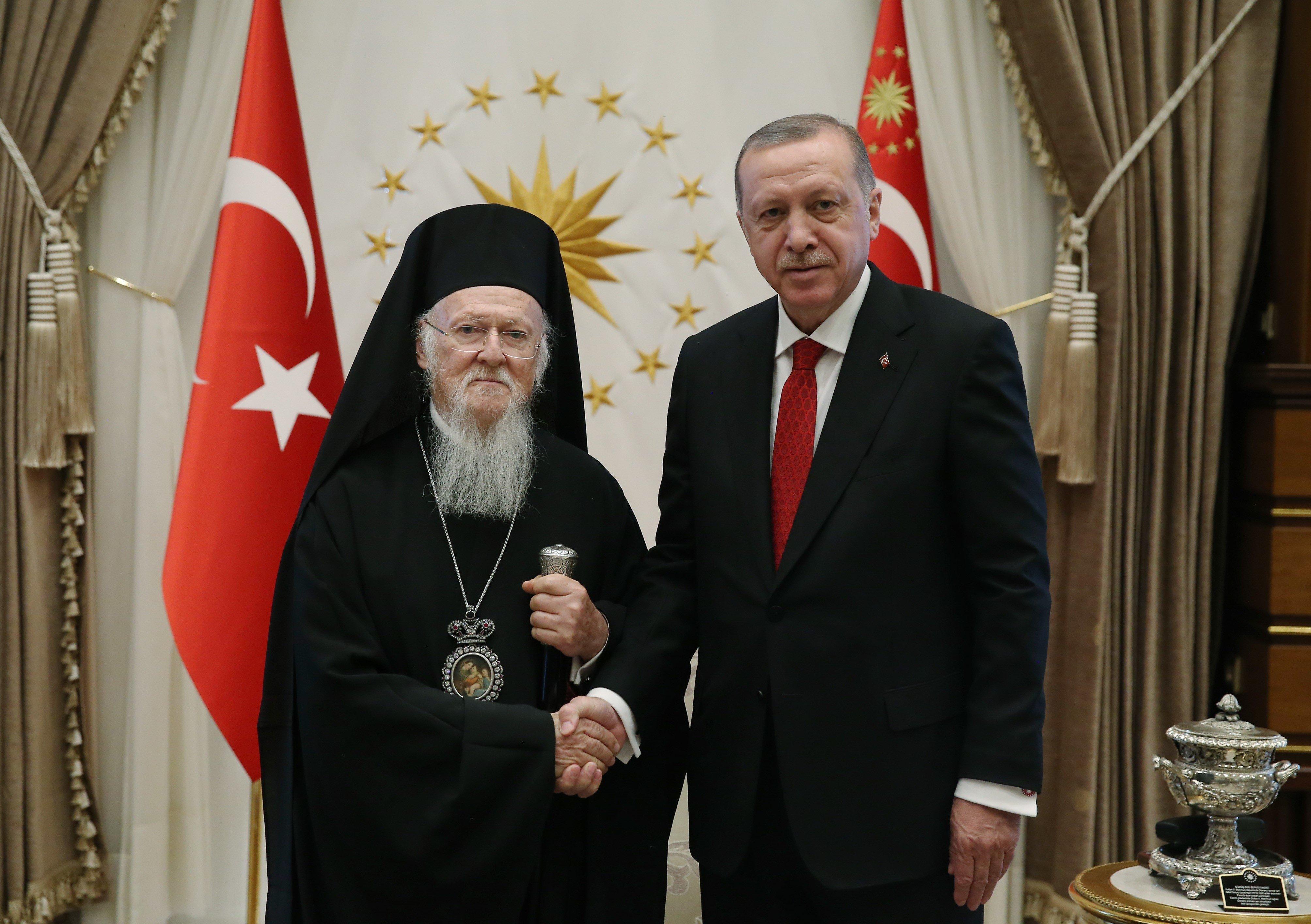 Τι συζήτησαν Βαρθολομαίος - Ερντογάν στη συνάντησή