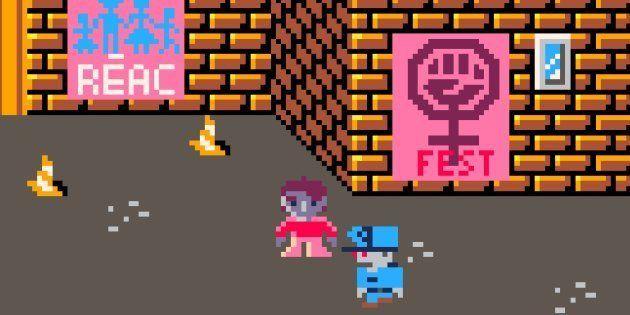 """Le jeu vidéo féministe """"Dykie Street"""" va vous aider à faire face au sexisme du quotidien"""