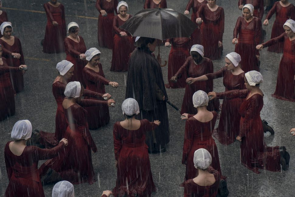 "A still from ""June,"" the Season 2 premiere of ""Handmaid's Tale."""