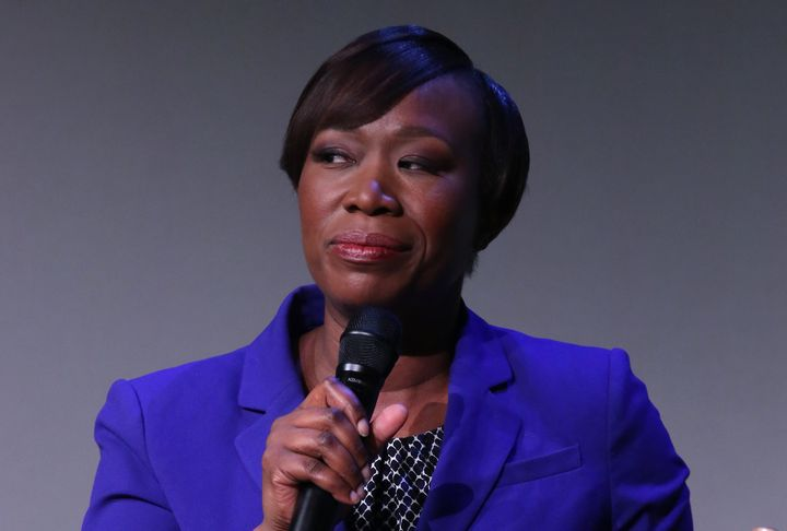 """""""I've not been exempt from being dumb or cruel or hurtful to the very people I want to advocate for,"""" MSNBC host Joy Reid said. """"I own that. I get it. And for that I am truly, truly sorry."""""""
