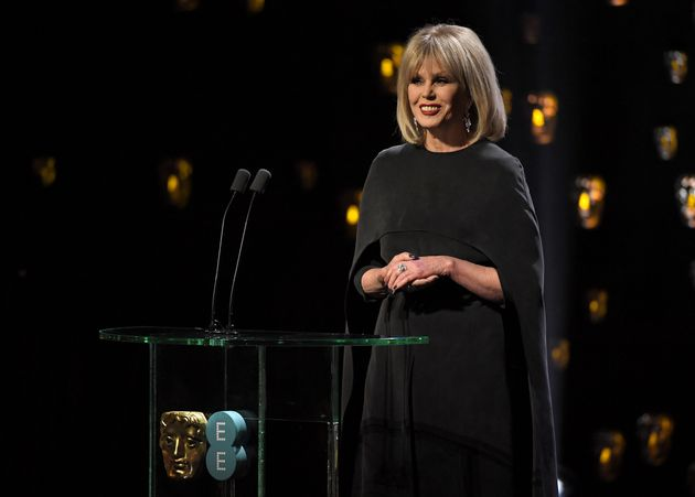 Joanna hosted the Baftas for the first time