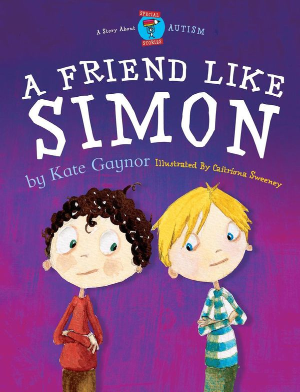 This book&nbsp;details the&nbsp;friendship between a child with autism&nbsp;and his neurotypical classmate.<br>(Written by Ka