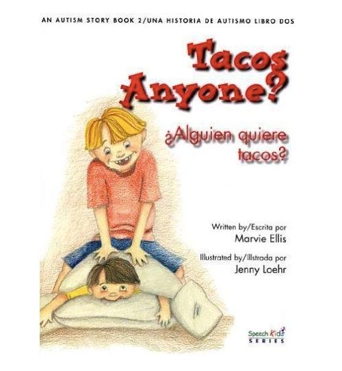 This bilingual book follows the story of Michael, a 4-year-old with autism, and his older brother, Thomas, who must lear