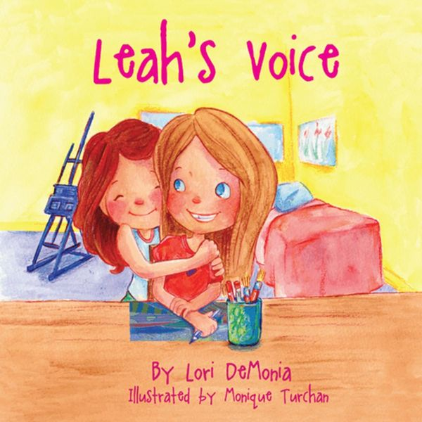<i>Leah's Voice</i> tells the story of two sisters, one of whom has autism.&nbsp;<br>(Written by&nbsp;Lori Demonia. Illustrat