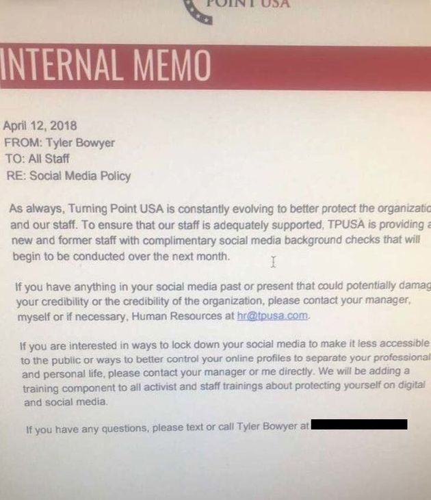 Turning Point USA Keeps Accidentally Hiring