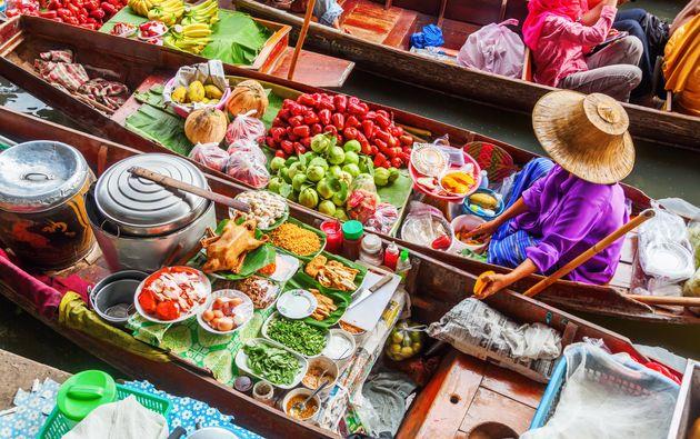Bangkok took the No. 10 destination for food