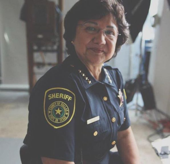 Lupe Valdez hopes to emerge as the Democratic gubernatorial nominee in a runoff later this month.