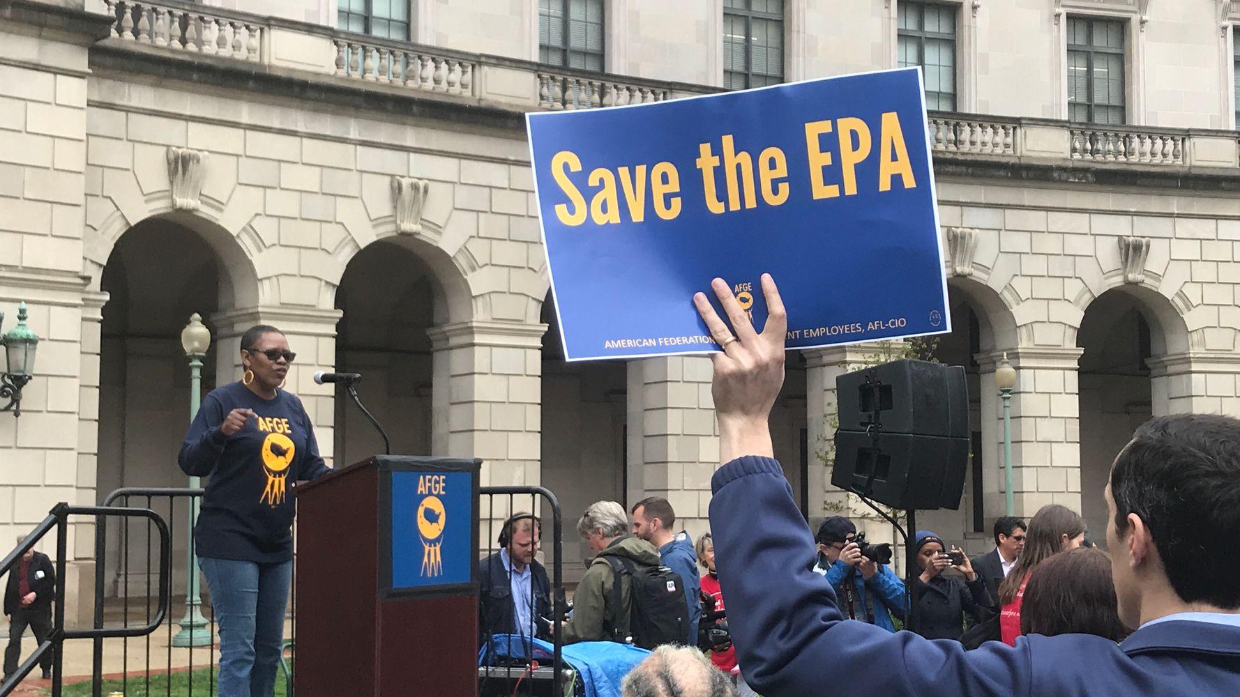EPA Workers Rally To Get Rid Of Scott Pruitt | HuffPost