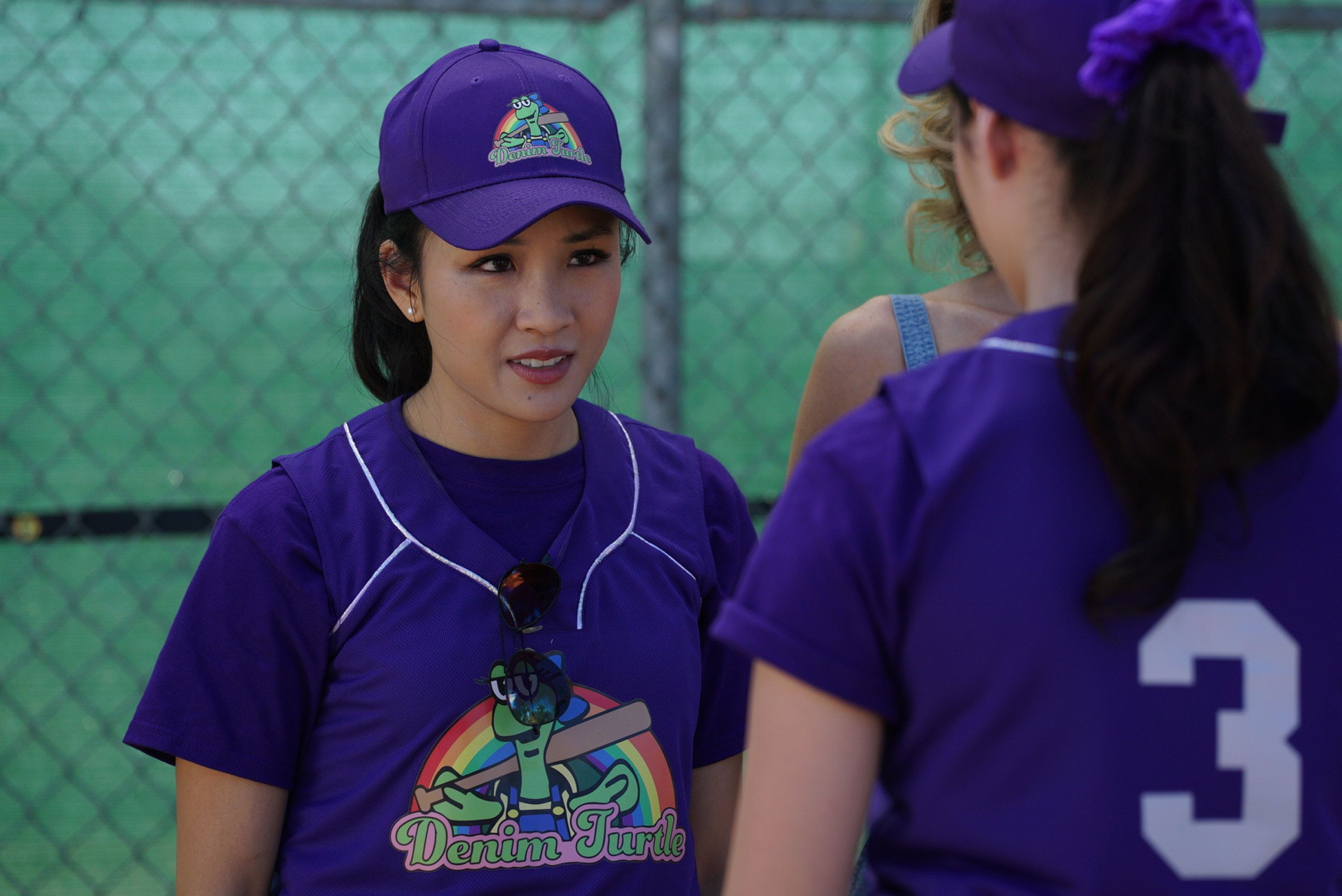 FRESH OFF THE BOAT - 'A League of Her Own' - After coming out of the closet to Honey and Jessica, Nicole struggles with telling Marvin, fearful that her father will be disappointed in her. Meanwhile, Louis wants to manage the Cattleman's Ranch softball team on his own, so Jessica decides to coach the rival team from The Denim Turtle to prove that she is the superior manager. Chaos is sure to ensue when everyone gathers for the big game at the Greater Orlando Bar and Restaurant tournament on 'Fresh Off the Boat' airing on TUESDAY, NOVEMBER 7 (8:30-9:00 p.m. EDT). (Richard Cartwright/ABC via Getty Images) CONSTANCE WU