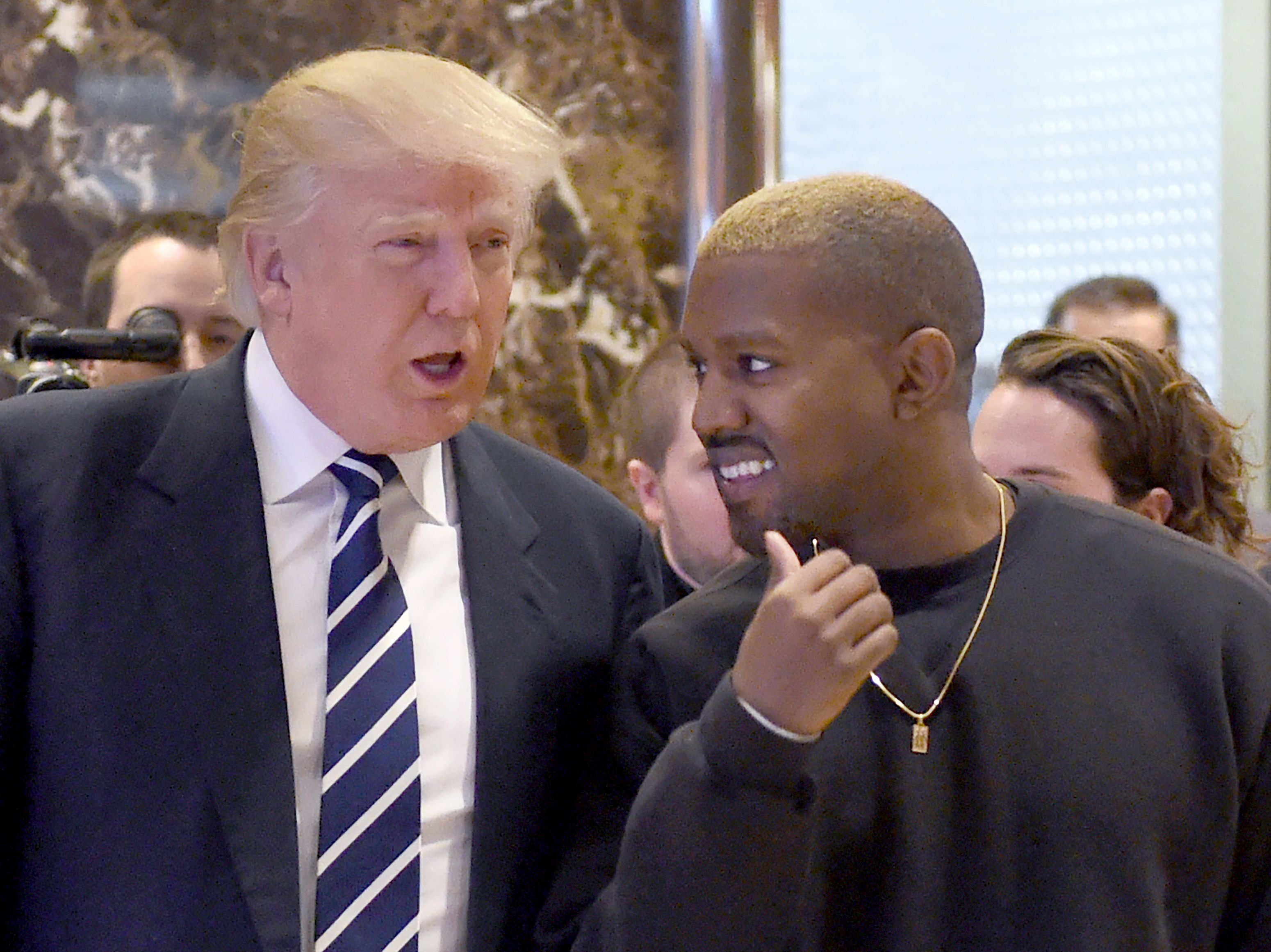 Kanye West Calls Donald Trump 'My Brother' During Astonishing Twitter Love-In