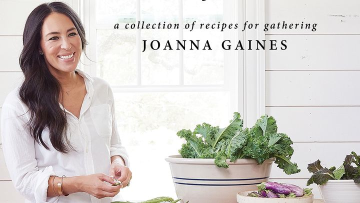 "The cover of Joanna Gaines' new book, <i><a href=""https://www.amazon.com/Magnolia-Table-Collection-Recipes-Gathering/dp/006282015X/ref=sr_1_1?ie=UTF8&amp;qid=1524703577&amp;sr=8-1&amp;keywords=magnolia+table"" target=""_blank"">Magnolia Table</a></i>."