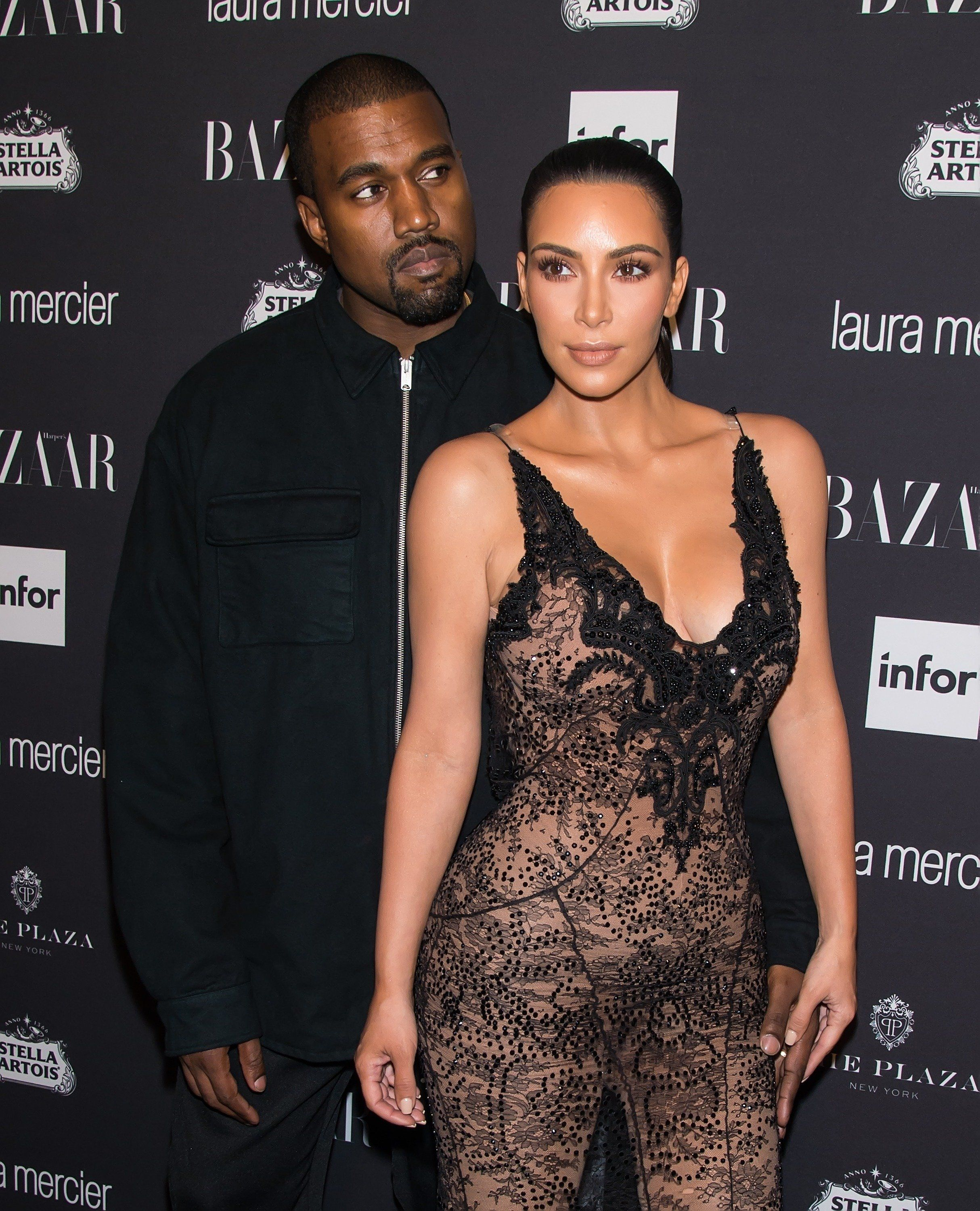 Kim K Slams Media For Pushing Mental Health Narrative Around Kanye's Twitter Spree
