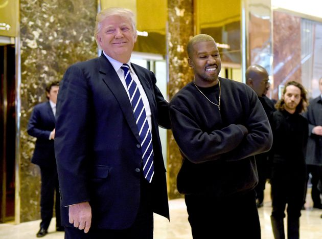 Kanye with Donald Trump