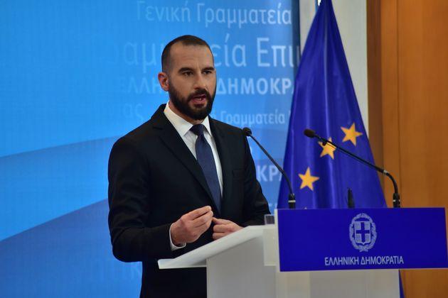 Ο κ.Μητσοτάκης να αναλάβει τις ευθύνες του, λέει ο Τζανακόπουλος για τα δημοσιεύματα περί offshore εταιρείας...