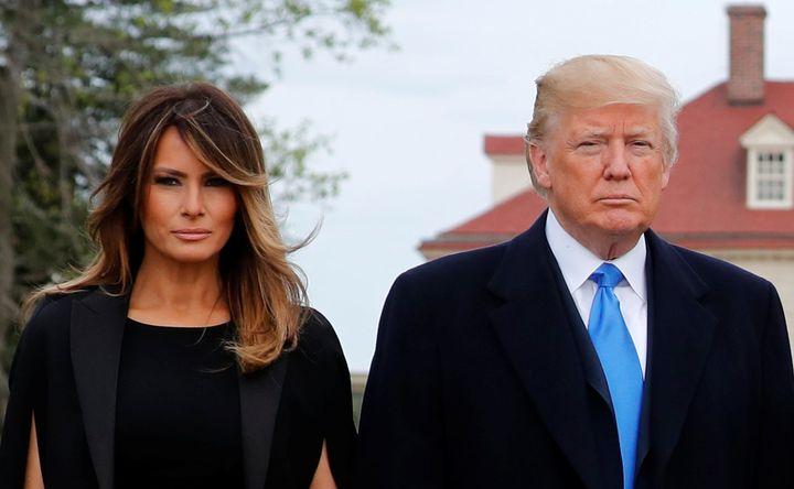 First lady Melania Trump turns 48 on Thursday.