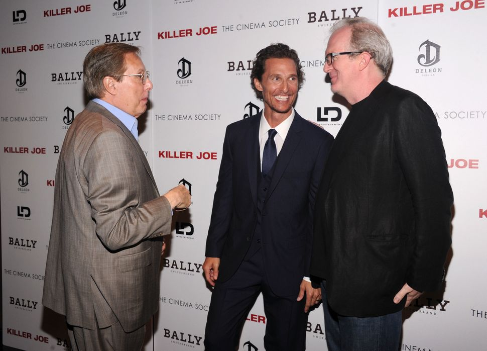 "Wiliam Friedkin, Matthew McConaughey and Tracy Letts at a ""Killer Joe"" screening in 2011."