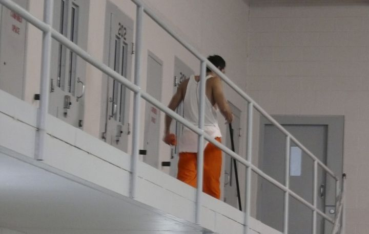 """Inside Val Verde Correctional Facility, an 875-bed private prison holding both men and women in separate wings for the """"Opera"""