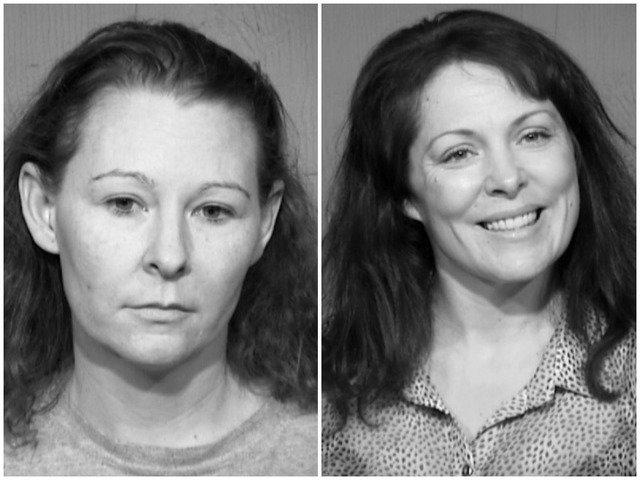 Melissa M Pavey  45  L and Jolene E Houchens  38  R