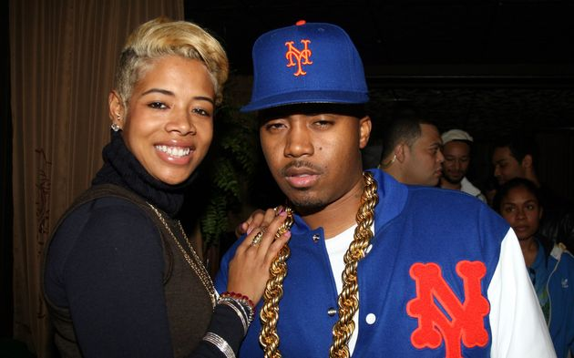 Kelis and Nas while the two were together in the early