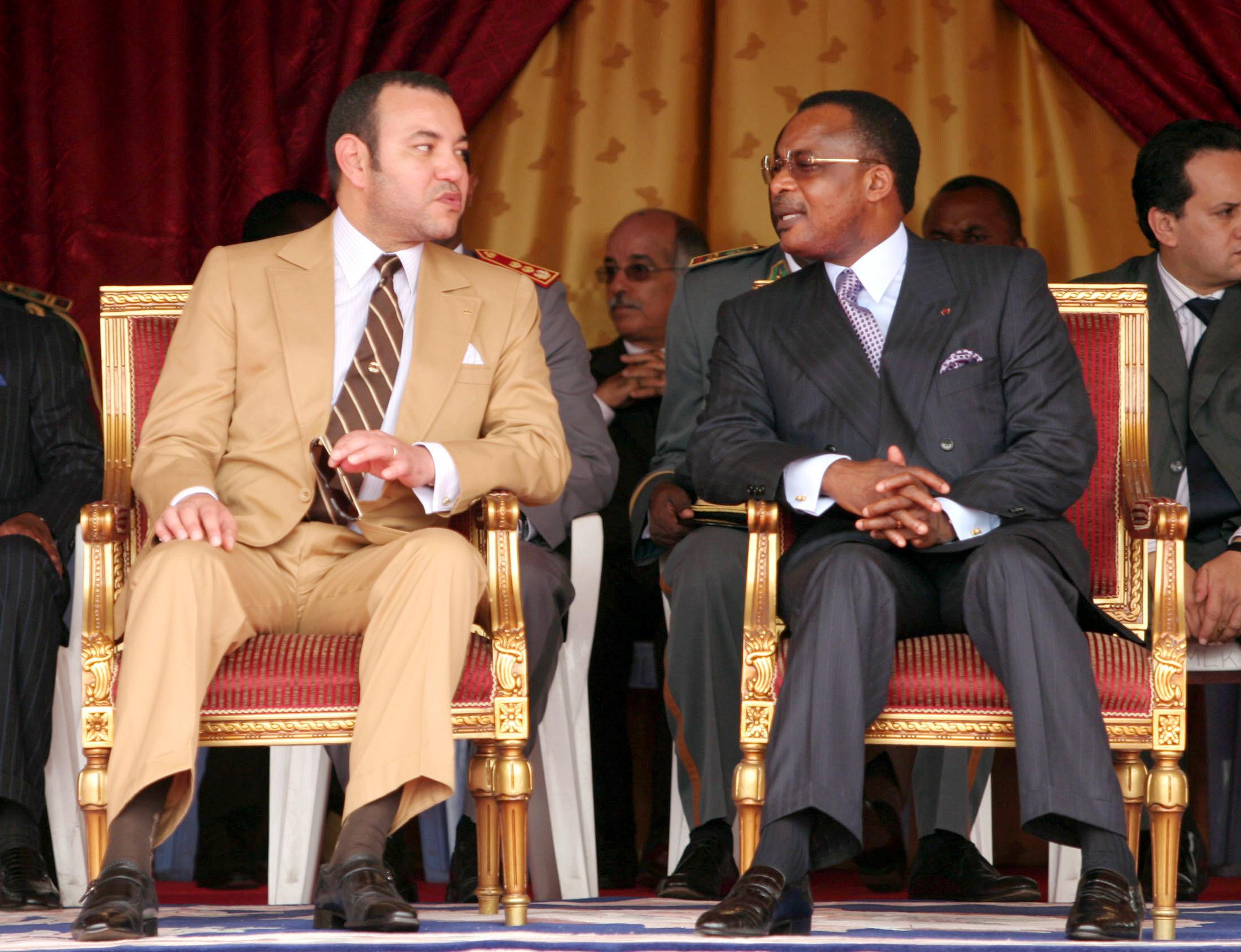 Le roi Mohammed VI attendu au Congo ce week-end pour signer une série
