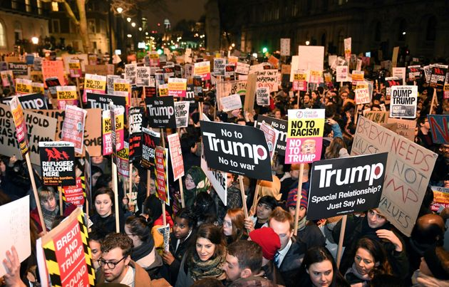 Donald Trump's UK Visit On 13 July Confirmed As Mass Protests