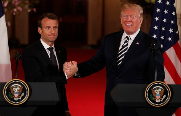 French President Emmanuel Macrontried to persuade U.S. President Donald Trump to remain in the...