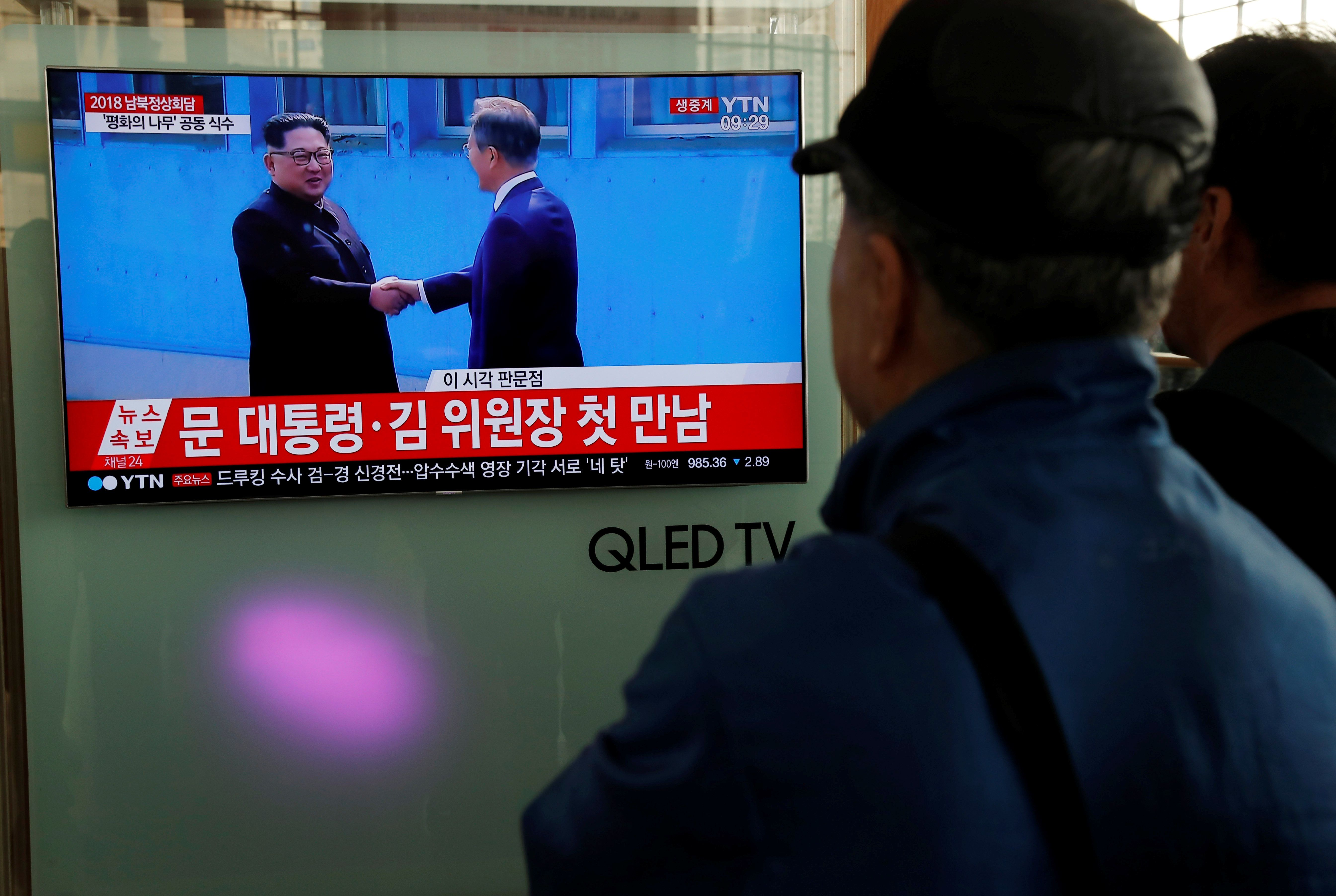 Kim Jong Un Crosses DMZ Into South Korea, First Leader From North To Do