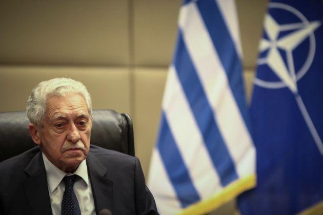 Κουβέλης: Δεν αποκλείεται ένα συμβάν με την Τουρκία που μπορεί να μετατραπεί σε θερμό