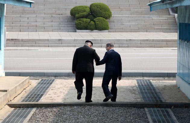 문재인 대통령과 김정은 위원장이 비공개로 나누었던