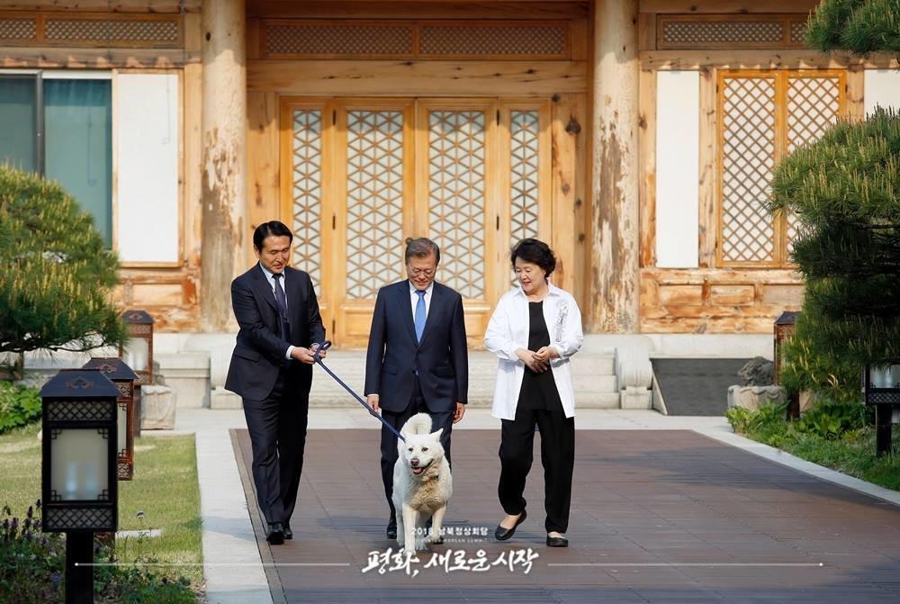 청와대가 공개한 남북정상회담