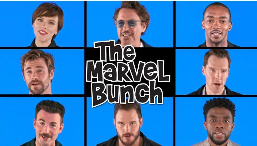 Οι Avengers όπως δεν τους έχουμε ξαναδεί: Παιδικές μελωδίες, χαμόγελα και
