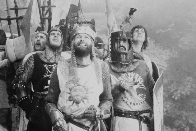 Από δεξιά: οEric Idle, ο John Cleese, ο...