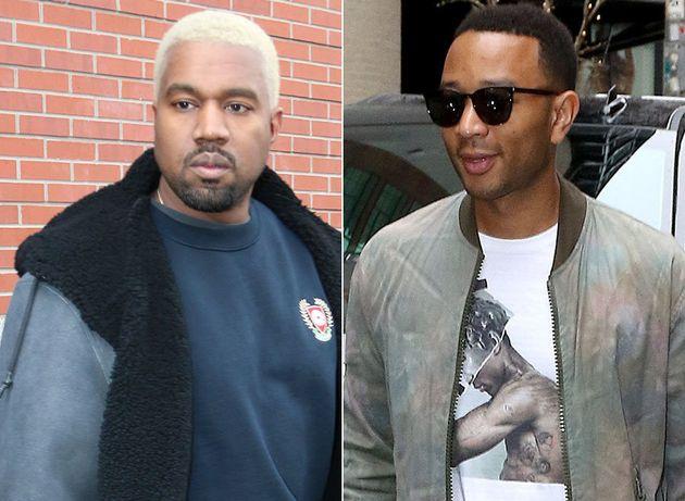 Kanye West and John