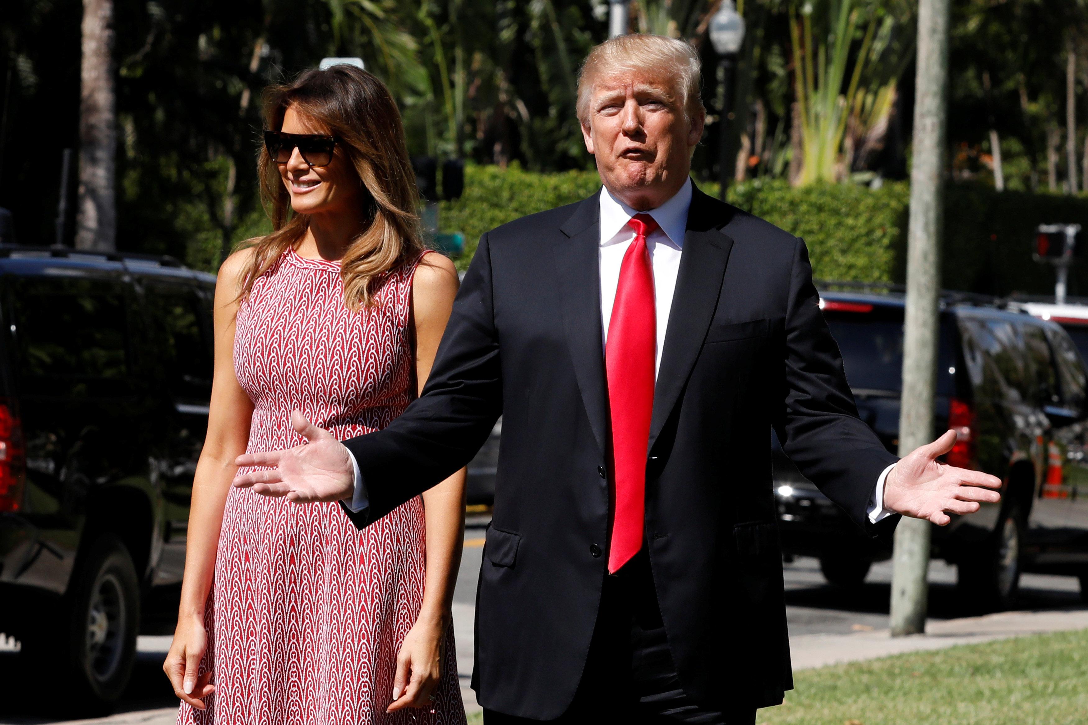 Trump hatte keine Zeit für Melanias Geburtstag – und findet es lustig