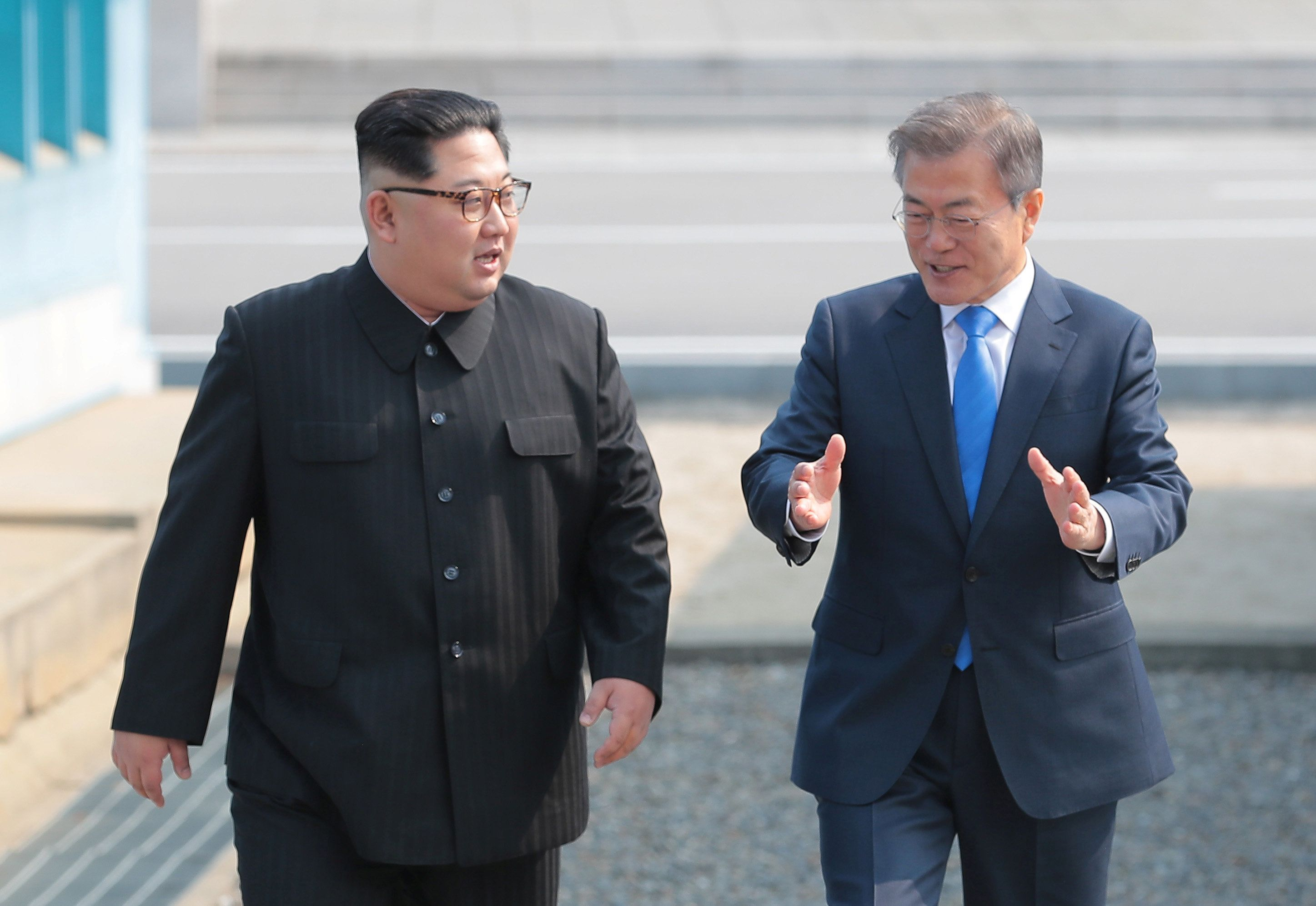 """남북 정상의 선언문은 """"완전한 비핵화""""를 언급했다"""