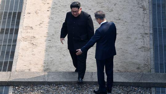 Το ιστορικό βήμα του Κιμ Γιονγκ- Ουν σε